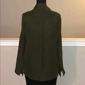 Express Tops - Express Sheer Blouse with Cami included